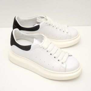 Shoes - Womens Casual Sneakers White Size 36 Chunky Sole